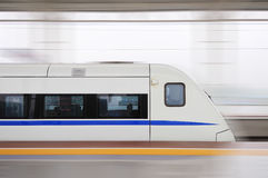 Trem rápido chinês Imagem de Stock Royalty Free