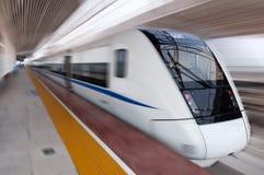 Trem rápido chinês Fotografia de Stock