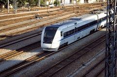 Trem rápido do chinês Imagem de Stock Royalty Free