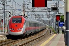 Trem rápido europeu Fotos de Stock Royalty Free