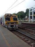 Trem railway ocidental imagens de stock royalty free