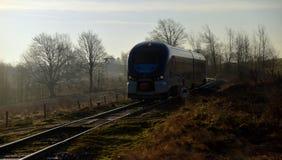 Trem Regioshark na manhã Imagens de Stock