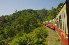 Trem Shimla do brinquedo Fotografia de Stock Royalty Free