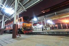 Trem tailandês Fotos de Stock Royalty Free