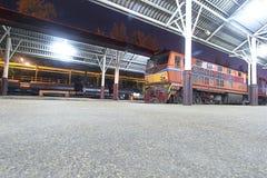 Trem tailandês Imagens de Stock Royalty Free