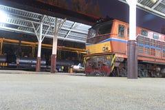 Trem tailandês Imagem de Stock Royalty Free