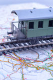 Trem a Terni, Italia imagens de stock