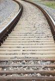 Trem Track-3 Foto de Stock Royalty Free