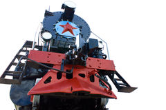 Trem velho. Fotos de Stock Royalty Free