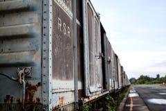 Trem velho da oxidação Imagem de Stock Royalty Free