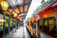Trem velho de Taiwan Imagem de Stock Royalty Free