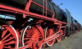 Trem velho do vapor Imagem de Stock