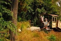 Trem velho do vapor Fotografia de Stock Royalty Free
