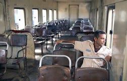 Trem velho em Trinidad Imagens de Stock