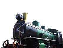 Trem velho no fundo branco Imagem de Stock Royalty Free