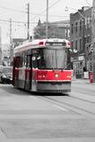 Trem vermelho Imagem de Stock