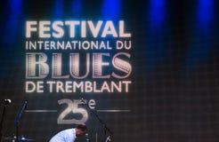 Tremblant国际蓝色节日 库存图片