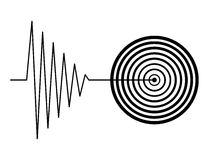 Tremblement Images stock
