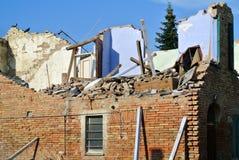 Tremblement de terre Photos stock