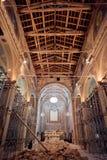 Tremblement de terre dans mon église Photographie stock libre de droits