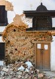 Tremblements de terre du Népal Image libre de droits