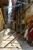 Tremblements de terre du Népal Images libres de droits