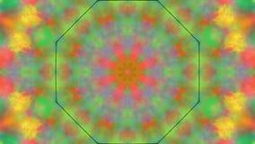 Trembling bokeh kaleidoscope. Trembling bright bokeh kaleidoscopic background stock video