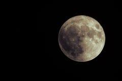 Tremendous rare super moon over black sea. Largest super moon since 1948. November 14th, 2016. Tremendous rare supermoon over black sea. Largest supermoon since Royalty Free Stock Photo