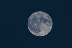 Tremendous rare super moon over black sea. Largest super moon since 1948. November 14th, 2016. Tremendous rare supermoon over black sea. Largest supermoon since Royalty Free Stock Photos