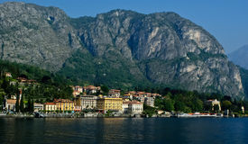 Tremezzo on the coast of Lake Como Royalty Free Stock Photography