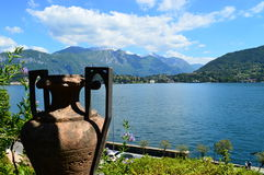 Tremezzo como озера Стоковое Изображение RF