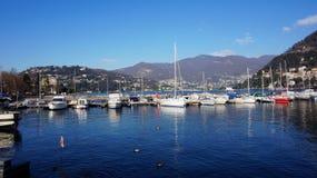 Tremezzo, Lake Como, Lombardy, Italy Royalty Free Stock Photos
