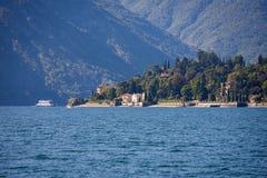 Tremezzo on Lake Como Royalty Free Stock Photography