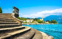 Tremezzo Tremezzina view, Como Lake district landscape. Italy, E Stock Photography