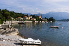 Tremezzo Waterfront - Lake Come, Italy Royalty Free Stock Photography