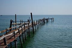 Treminal de pêcheur. Images libres de droits
