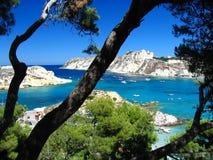 Tremiti islands stock photos