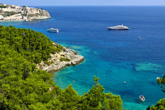 Tremiti islands. Corner of paradise at the Tremiti islands in the south of Italy royalty free stock photography
