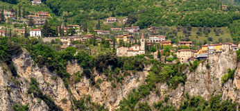 Tremosine, Lago di Garda Stock Photos