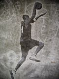 Tremper de Streetball illustration stock