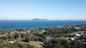 Trempez l'île photo stock