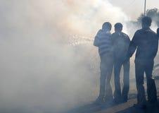 Trempez l'incendie Image libre de droits