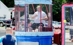 Trempez le réservoir à l'événement extérieur d'été photographie stock libre de droits