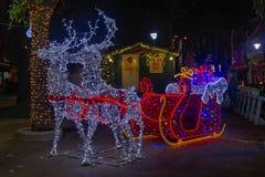 Trenó de Santa Claus fotografia de stock royalty free