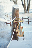 Trenó do inverno do vintage Imagem de Stock