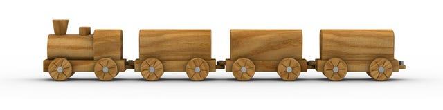 Tren 02 del juguete Fotografía de archivo