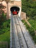 Tren 2 del cable Imágenes de archivo libres de regalías