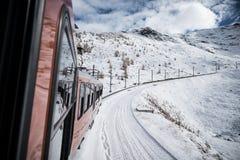 Tren al Cervino Imagen de archivo