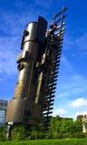 Tren al cielo Foto de archivo libre de regalías