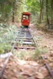 Tren anaranjado Fotos de archivo libres de regalías